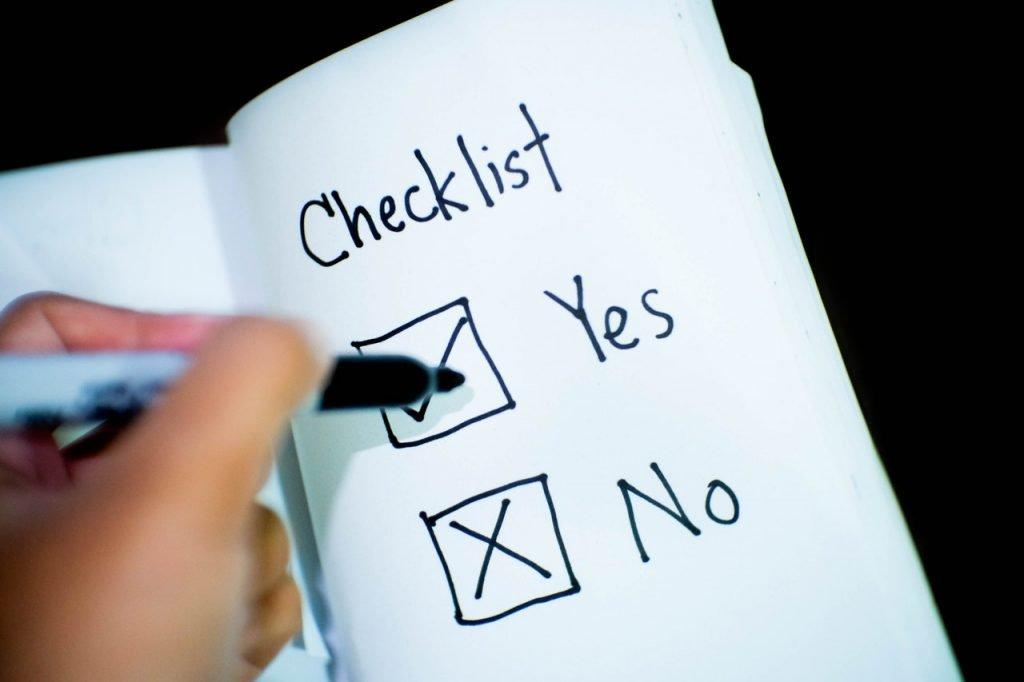 ada compliance checklist